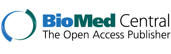 BioMed Central logo, The Open Access Publisher