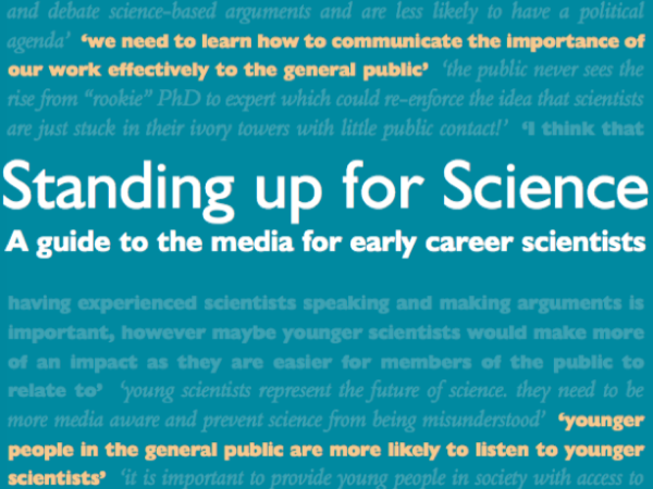 Standing up for Science screenshot of PDF cover