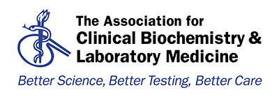 The Association for Clinical Biochemistry and Laboratory Medicine logo