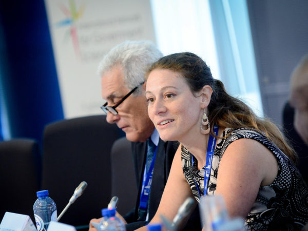 Sofie Vanthournout speaking at IGNSA conference 2016