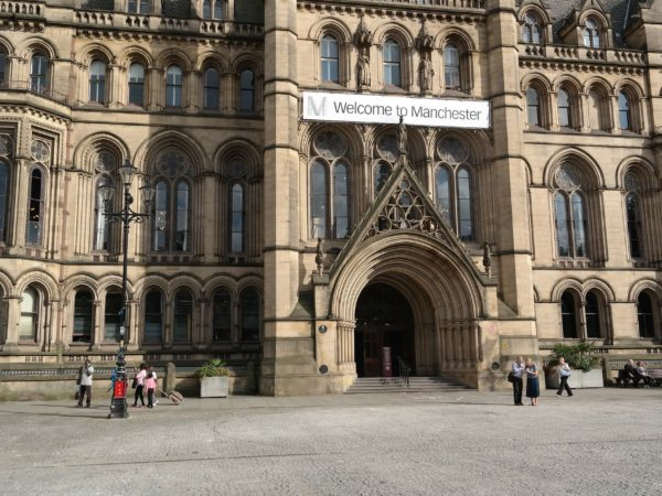 Exterior of Manchester museum
