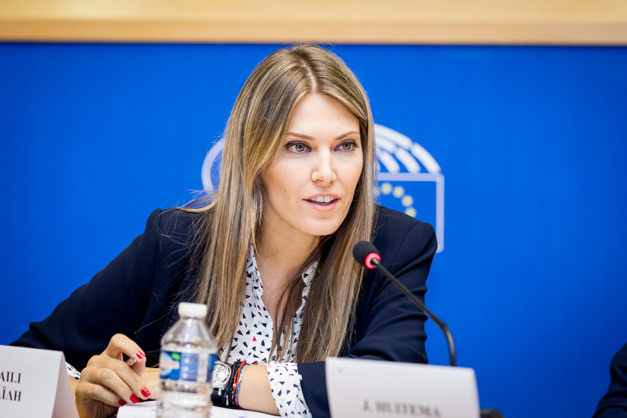 Eva MEP speaking