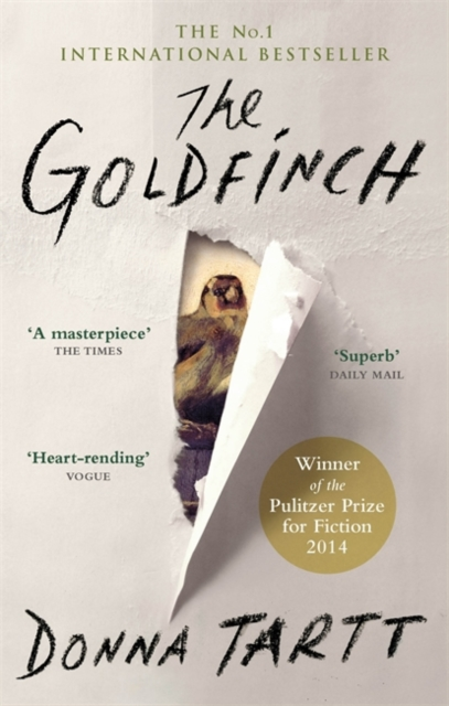 the goldfinch donna tartt book cover